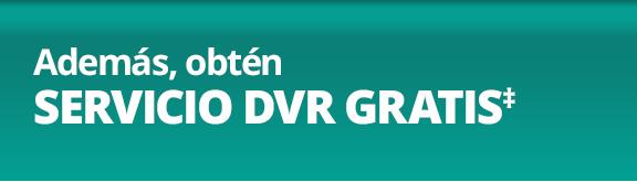 Promoción de DVR GRATIS